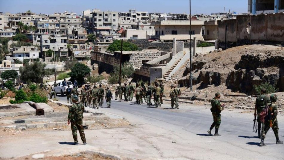 Sigue reconciliación: Ejército sirio peina otra ciudad de Daraa