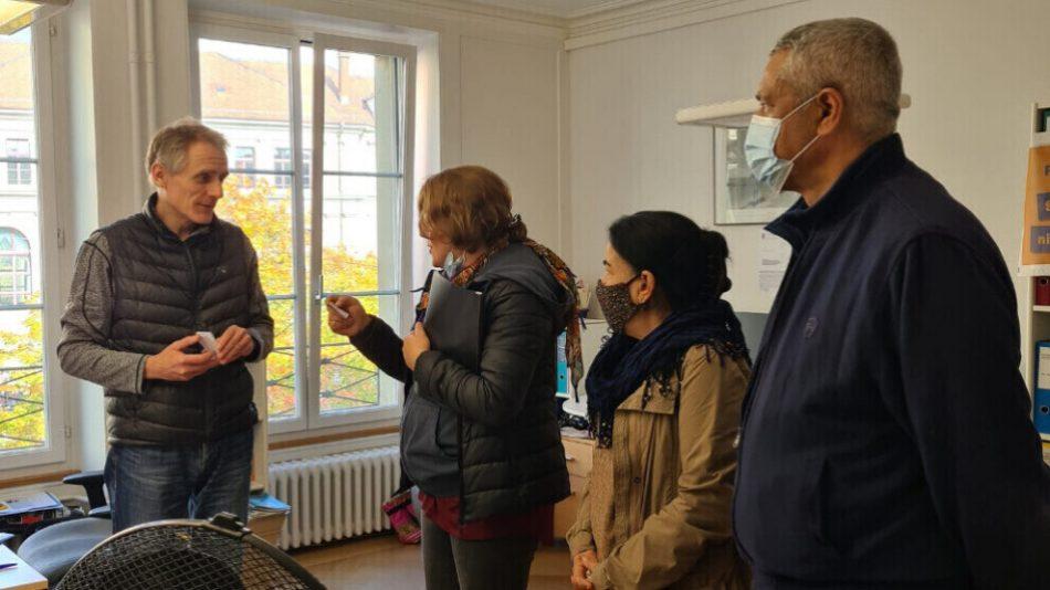 Conversaciones sobre el uso de armas químicas por parte de Turquía en Berna