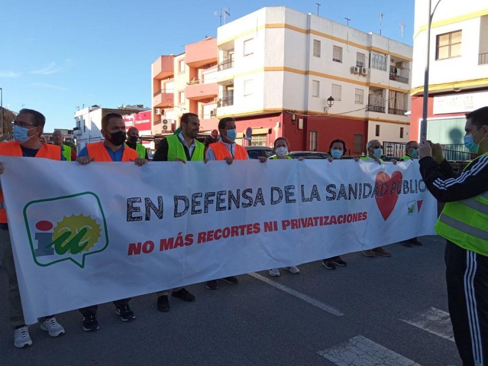 Unidas Podemos reclama servicios públicos de calidad y denuncia las carencias de la sanidad en Sevilla