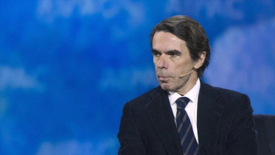 Venezuela y Cuba censuran a Aznar por su «burla racista» de México