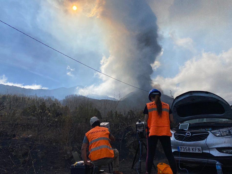 La isla de La Palma sufre un nuevo derrumbe en el flanco norte de la Cumbre Vieja