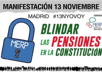 'Bastonada' para anunciar la manifestación del 13N