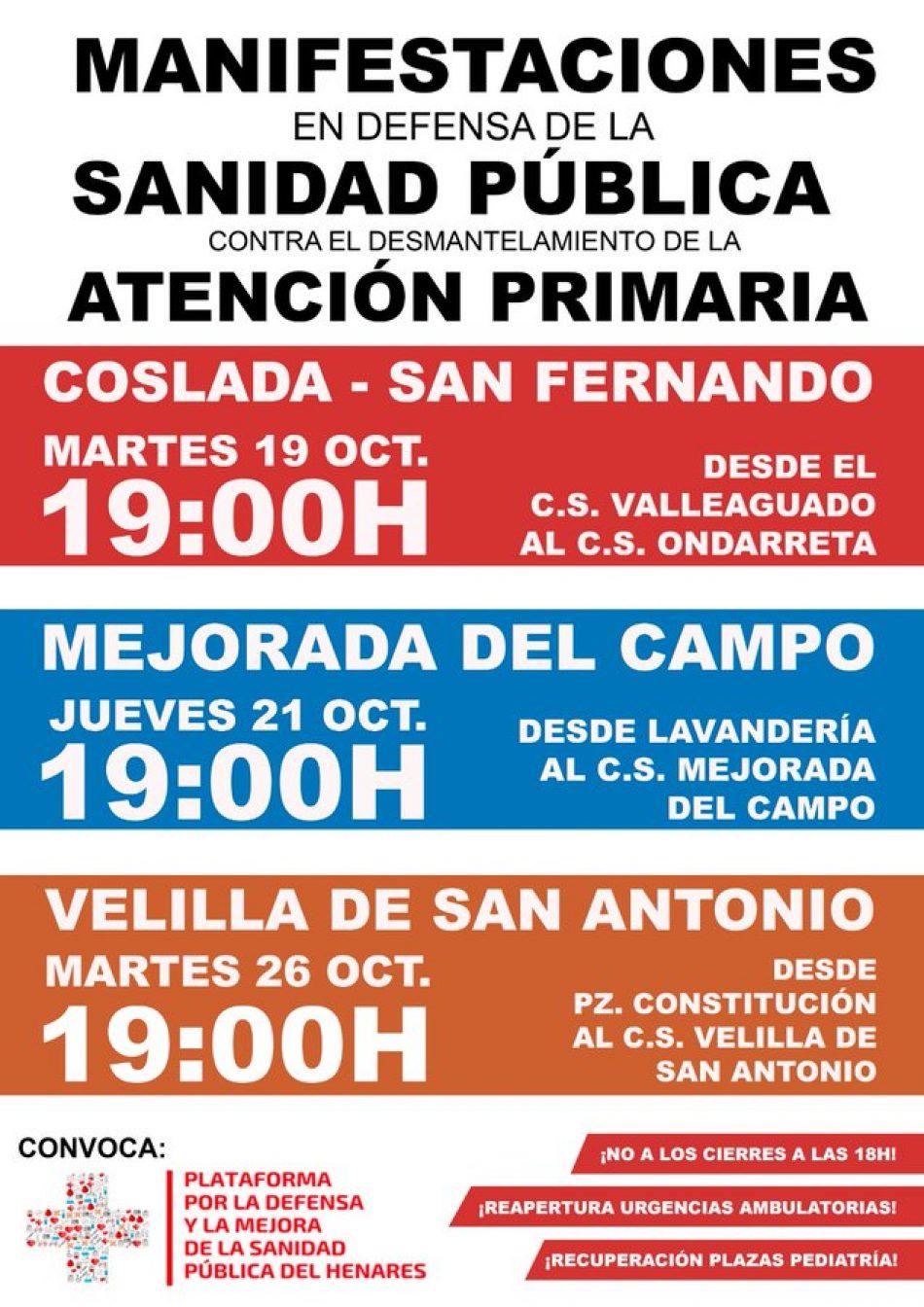 La FRAVM rechaza el plan de Atención Primaria por insuficiente y pide mantener las consultas de 8:00 a 21:00