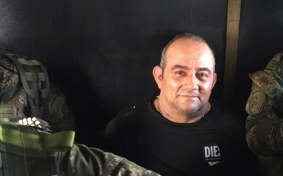 Capturan a Otoniel, el narco más buscado de Colombia