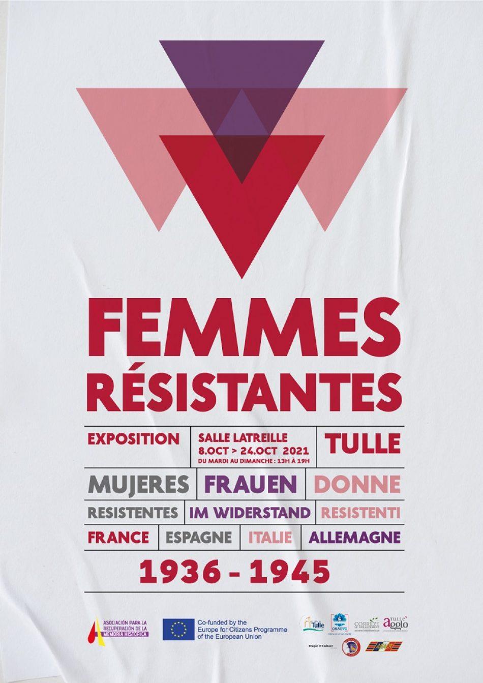 La exposición 'Mujeres Resistentes' inaugura en Francia su recorrido europeo