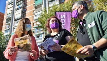 Ione Belarra busca impulsar la actividad de Podemos en las calles para «reinvidicar los avances en luz y vivienda»