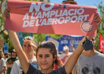 Celebren l'aturada de l'ampliació de l'aeroport del Prat