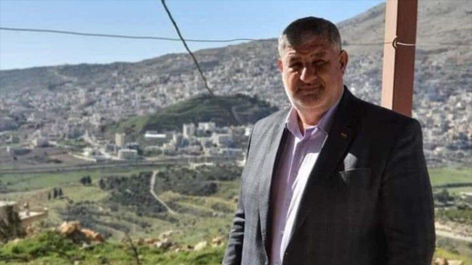 Israel asesina a Midhat al-Saleh, activista contra la ocupación del Golán