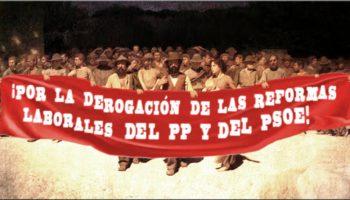 Manifiesto por la derogación de las reformas laborales