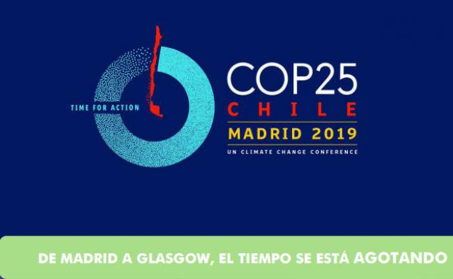 Ecologistas en Acción: «De Madrid a Glasgow, el tiempo se agota»