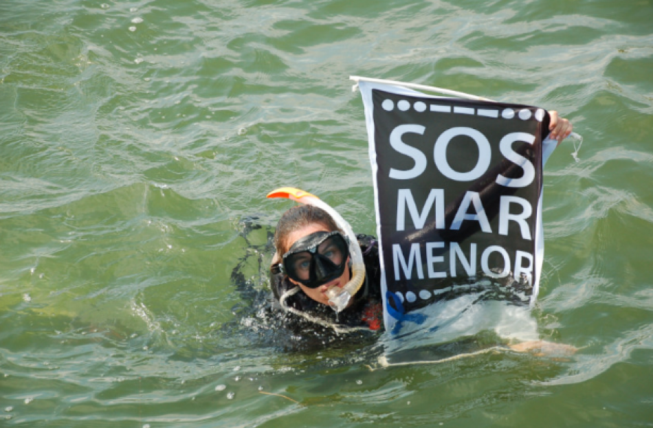 Se convoca una gran manifestación en defensa del Mar Menor en Murcia