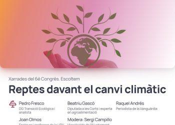 Iniciativa-Compromís continúa con sus debates abiertos para su 6º Congreso analizando los retos ante el cambio climático
