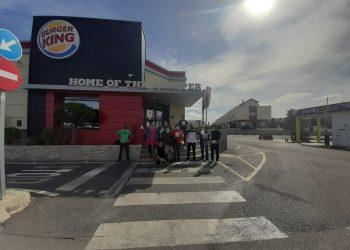 Sindicato 25 de Marzo: «¡Alto a los abusos laborales en Burger King!»