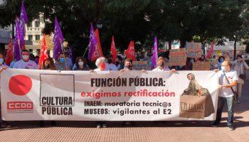 CCOO anuncia huelga en los teatros estatales a partir del 21 de octubre y exige soluciones inmediatas para la cultura pública