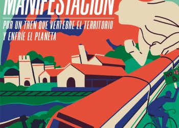 Bicifestación en la Semana de lucha por un tren que vertebre el territorio y enfríe el planeta