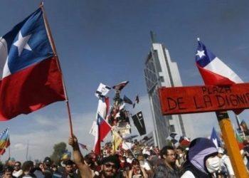 Chilenos conmemoran segundo aniversario del estallido social