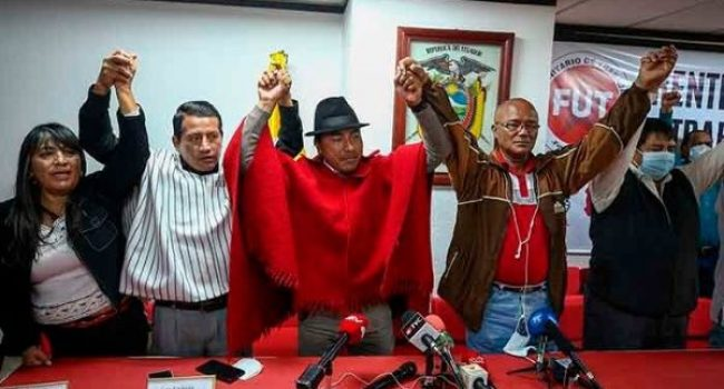 Movimiento indígena de Ecuador convoca a un segundo día de protesta