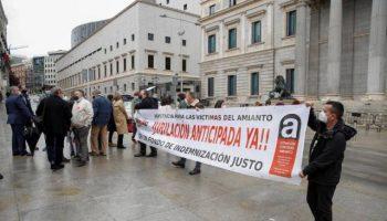 Asociaciones de Víctimas de amianto en todo el Estado convocan concentraciones el día 4 de noviembre