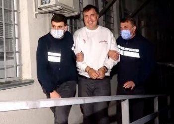 Detienen al expresidente de Georgia, Mijaíl Saakashvili
