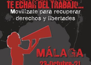 «Por lo Público y por lo común»: manifestación en Málaga el 23 de Octubre