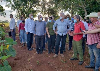 Díaz-Canel insta a generalizar experiencias frente a cambio climático