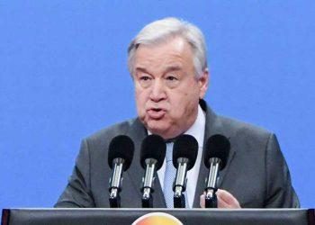Secretario de ONU insta a transformar los sistemas alimentarios