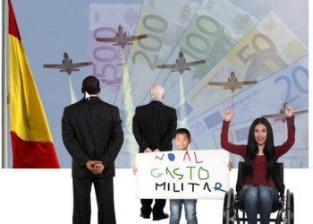 PGE 2022: Un gasto militar desmesurado porque ellos no están en crisis
