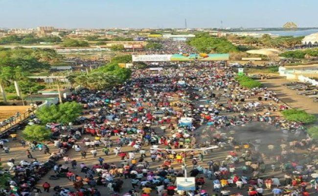 Persisten protestas civiles en Sudan contra golpe de Estado