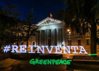 Greenpeace advierte que los presupuestos para la recuperación verde y justa siguen sin apostar por la transformación del sistema