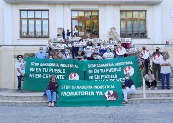 Plataformas vecinales de 70 municipios presentan solicitudes de moratoria a la ganadería industrial