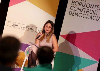 Alejandra Jacinto: «Hemos sacado adelante la Ley de Vivienda a pesar de que el PSOE ha sido muy permeable a los fondos de inversión»