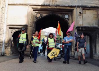 La Marcha a Glasgow por el Clima alcanza su ecuador