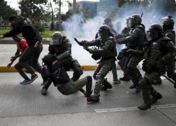 La Fuerza pública es el actor armado que más vulneró los Derechos Humanos en Colombia en 2021